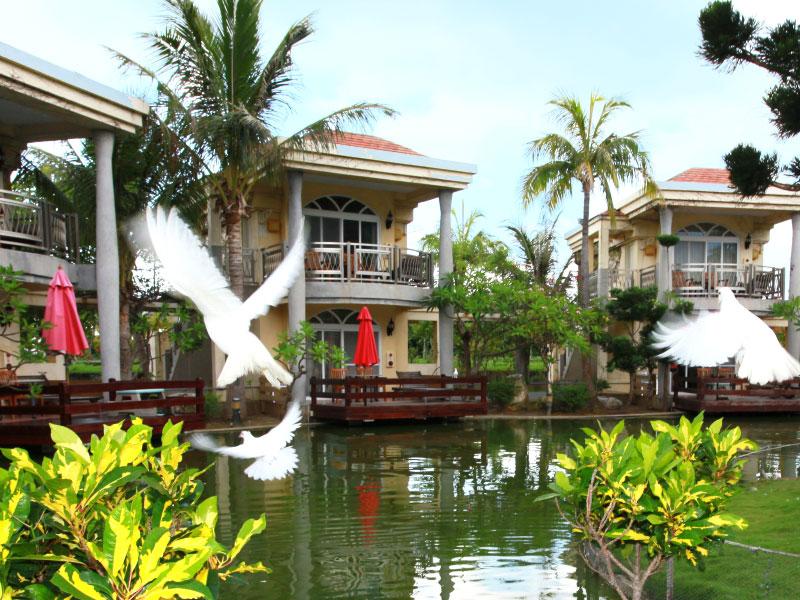 湖畔别墅天鹅公主Villa 景点