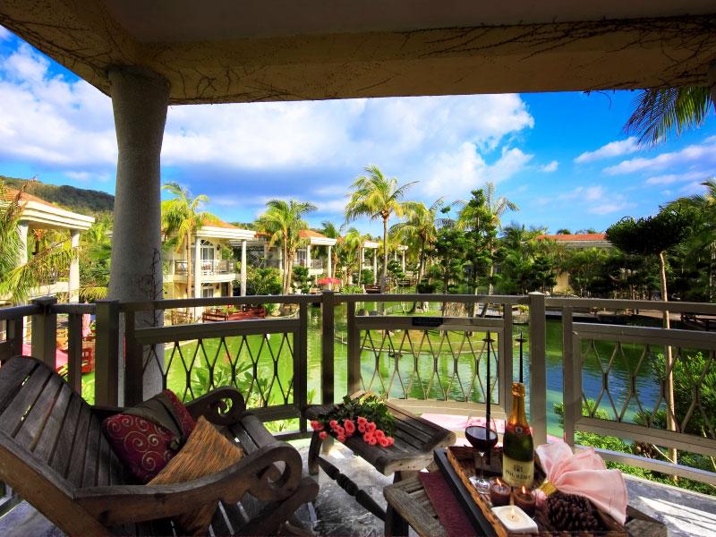 湖畔别墅亲子Villa 2楼 阳台