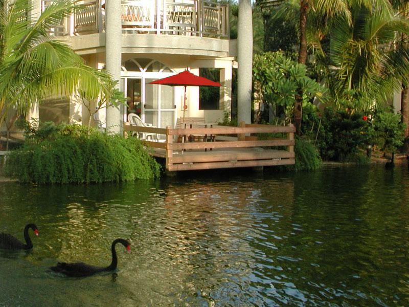 湖畔別墅親子Villa 1樓 陽台