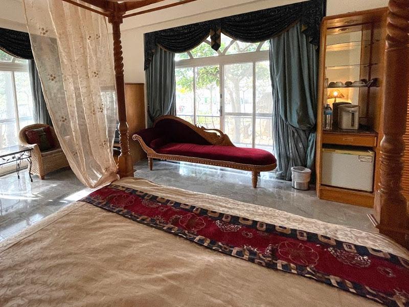 花園貴族蜜月套房 床型